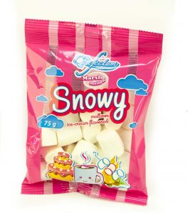 Punga bomboane Snowy