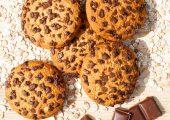 biscuiti cu faina de porumb si ciocolata