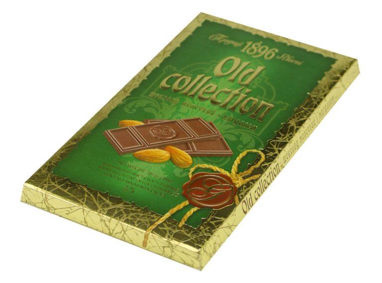 Ciocolata cu lapte si migdale Old Collection