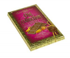 Ciocolata Old Collection cu migdale și stafide